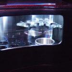 Krystal Koach Limo bus interior drink storage
