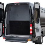 Mercedes Sprinter Exterior back luggage storage