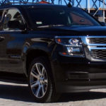 Chevy Suburban exterior front