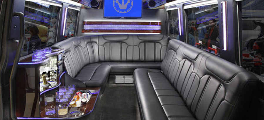 Captivating Mercedes Sprinter Interior Luxury Seating And Tv Images